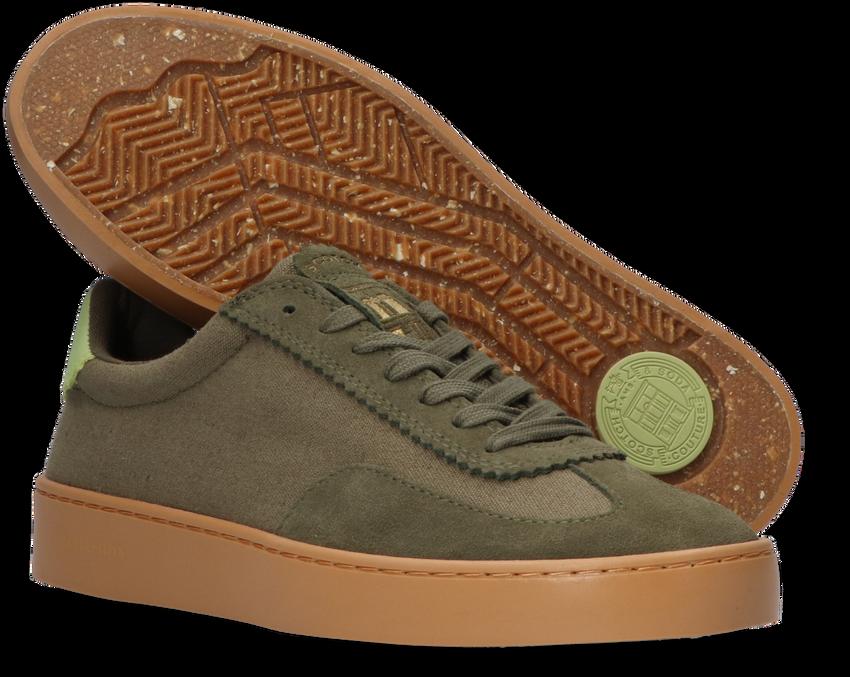 Groene SCOTCH & SODA Lage sneakers PLAKKA 2  - larger