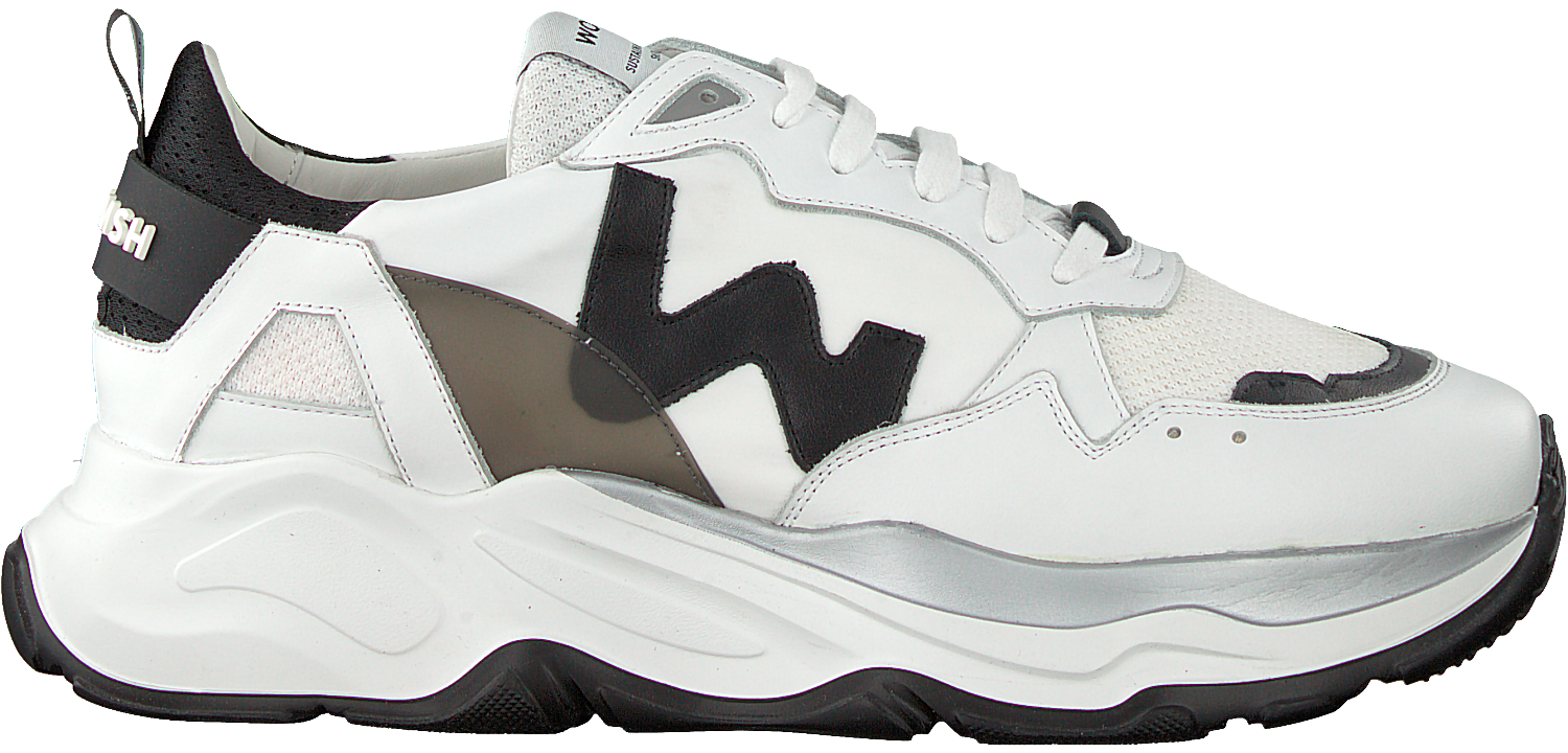 Witte WOMSH Lage sneakers FUTURA | Omoda