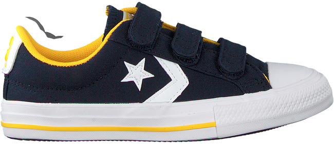 Blauwe CONVERSE Lage sneakers STAR PLAYER 3V OX KIDS  - large