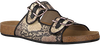 Beige TORAL Slippers 11016  - small