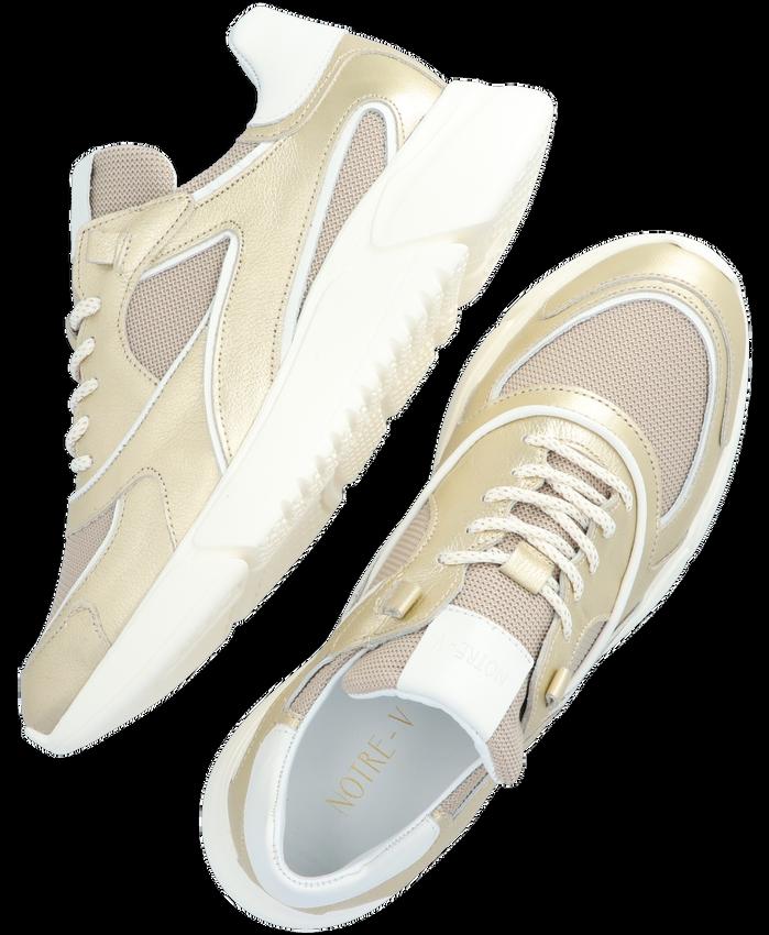 Gouden NOTRE-V Lage sneakers J5314B  - larger