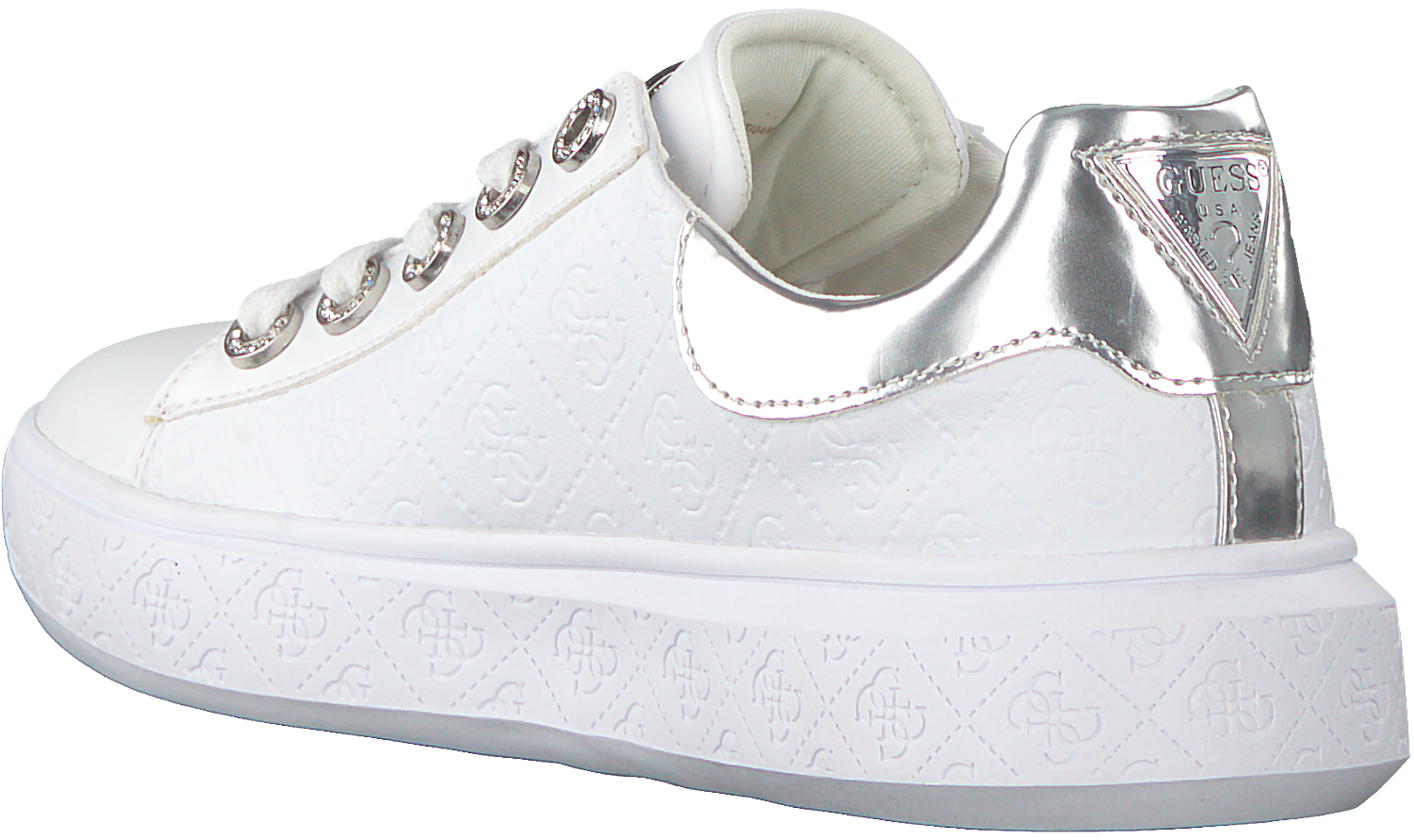 Witte GUESS Sneakers BUCKY Omoda.nl