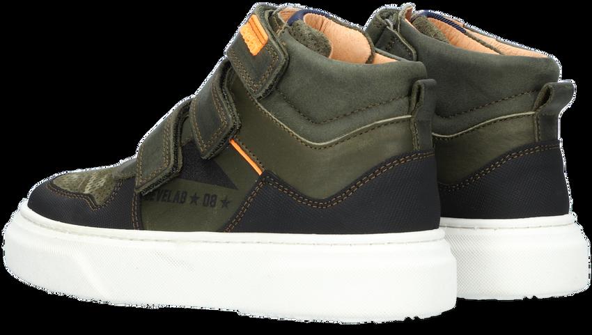 Groene DEVELAB Hoge sneaker 41953  - larger