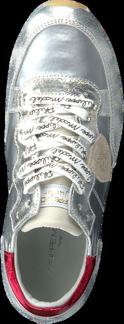 Zilveren PHILIPPE MODEL Lage sneakers TROPEZ L JUNIOR  - large