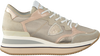 Gouden PHILIPPE MODEL Lage sneakers TRIOMPHE L D  - small