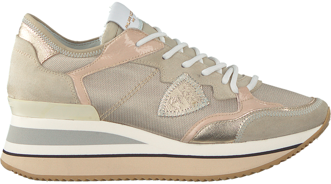 Gouden PHILIPPE MODEL Lage sneakers TRIOMPHE L D  - large