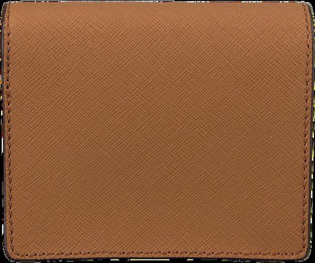 Cognac MICHAEL KORS Portemonnee FLAP CARD HOLDER - large