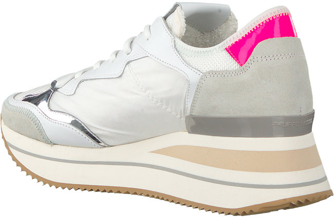 Witte PHILIPPE MODEL Lage sneakers TRIOMPHE L D  - large