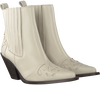 Witte TORAL Enkellaarsjes 12358  - small