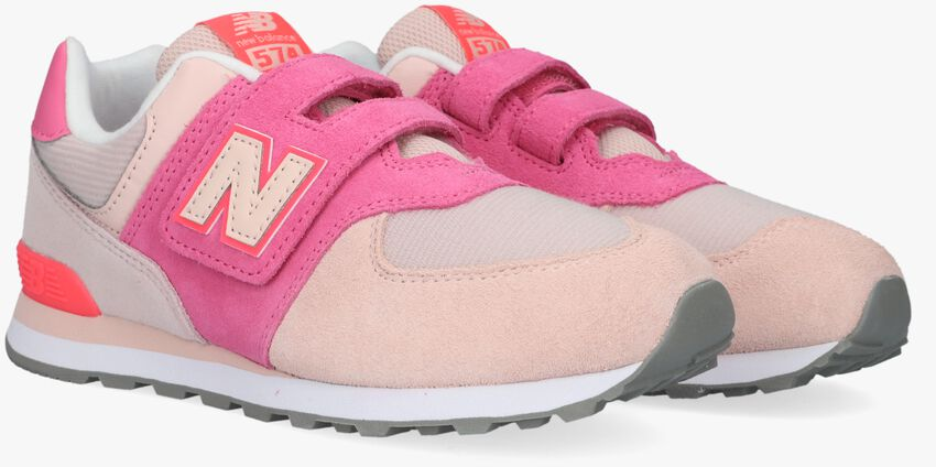 Roze NEW BALANCE Lage sneakers PV574  - larger