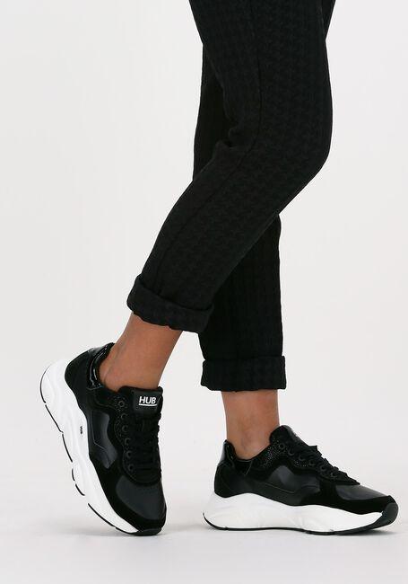 Zwarte HUB Lage sneakers ROCK-W  - large