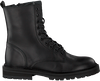 Zwarte HIP Veterschoenen H1686  - small