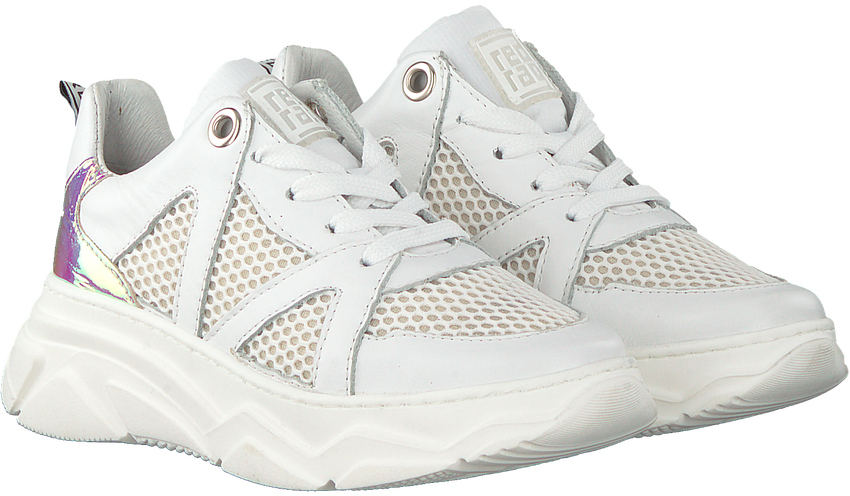 Witte RED-RAG Lage sneakers 13264  - larger