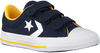 Blauwe CONVERSE Lage sneakers STAR PLAYER 3V OX KIDS  - small