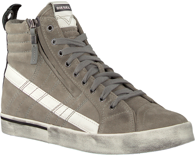 Grijze DIESEL Sneakers D-VELOWS MID  - large
