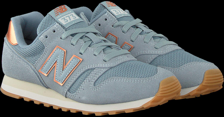 Blauwe NEW BALANCE Lage sneakers WL373 DAMES   Omoda
