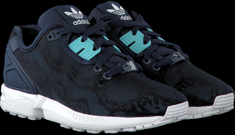 279d6e03562 Blauwe ADIDAS Sneakers ZX FLUX DAMES - Omoda.nl