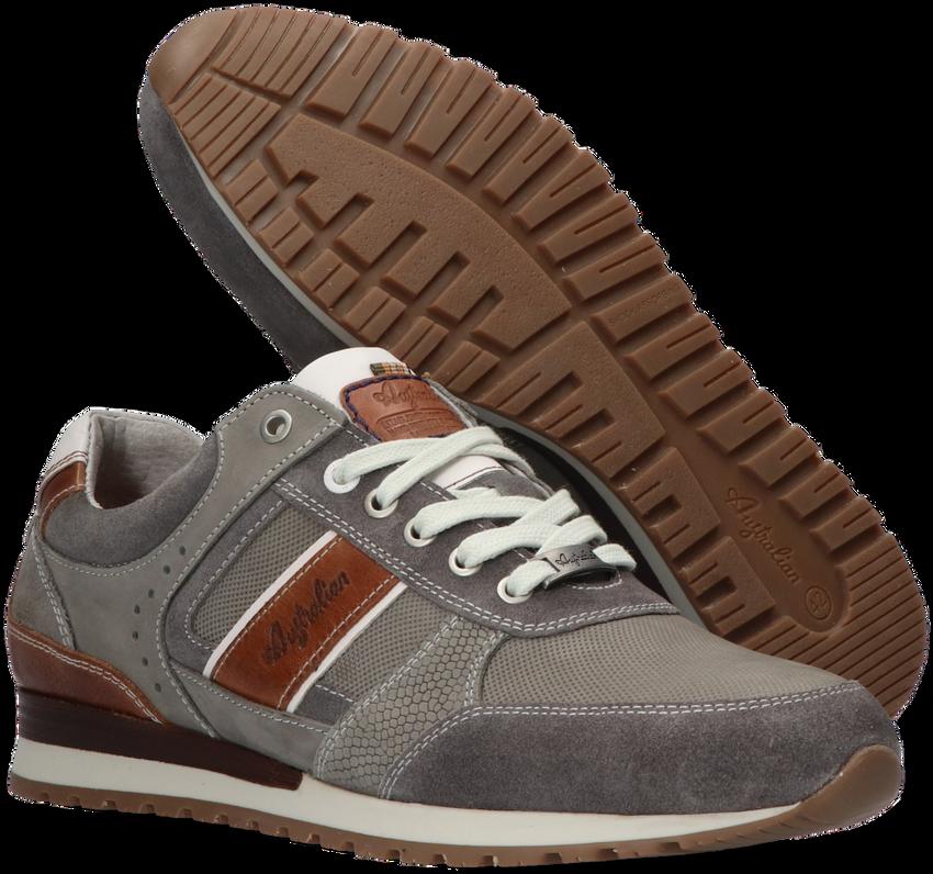 Grijze AUSTRALIAN Lage sneakers CONDOR  - larger