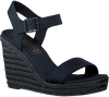 Blauwe TOMMY HILFIGER Sandalen COLORFUL TOMMY WEDGE SANDAL  - small
