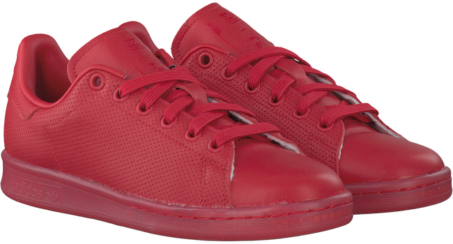 Rode ADIDAS Sneakers STAN SMITH DAMES  - large