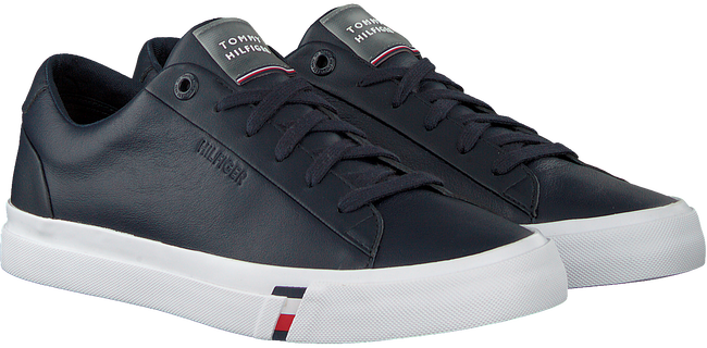 Blauwe TOMMY HILFIGER Lage sneakers CORPORATE MEN  - large
