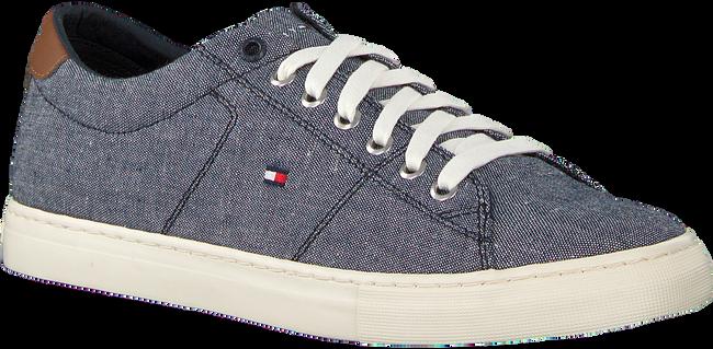 Blauwe TOMMY HILFIGER Sneakers SEASONAL TEXTILE  - large