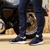 Blauwe GROTESQUE Sneakers MAREGA 1-F  - small