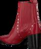 Rode BRONX Enkellaarsjes 33999 - small