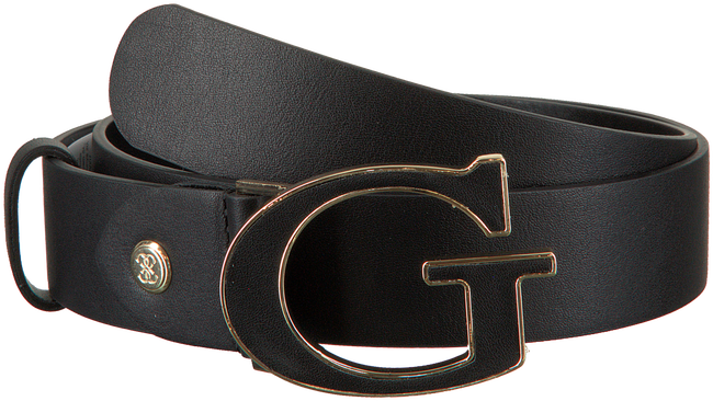 Zwarte GUESS Riem KERRIGAN ADJUSTABLE PANT BELT  - large