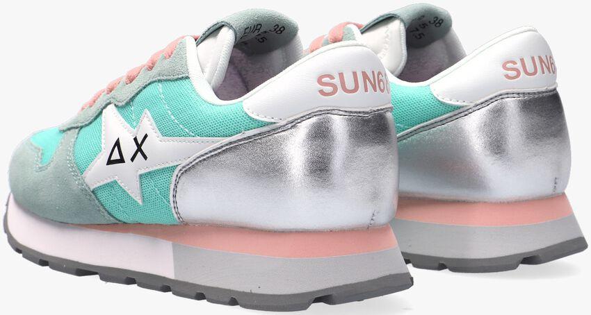 Groene SUN68 Lage sneakers ALLY STAR BASIC W - larger