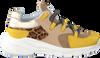Gele TORAL Sneakers 11101  - small