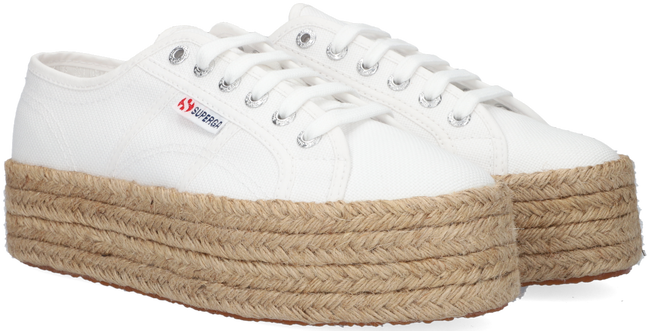 Witte SUPERGA Lage sneakers 2790 ROPE  - large