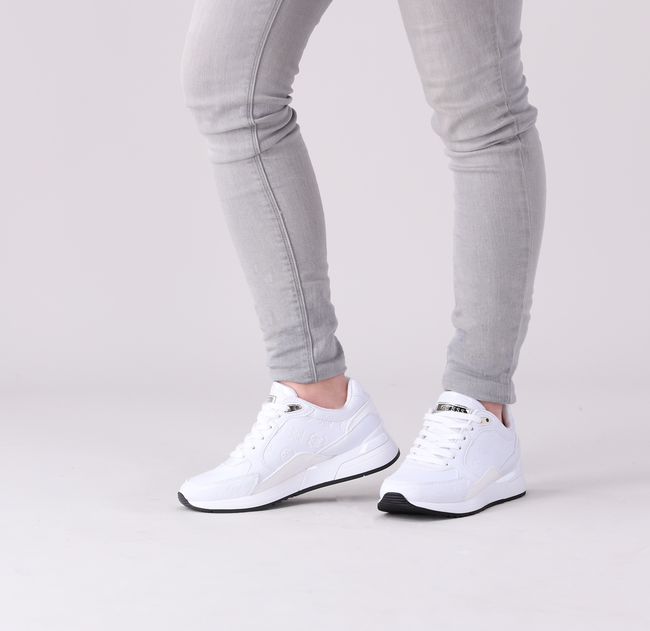 Witte GUESS Lage sneakers MOXEA  - large