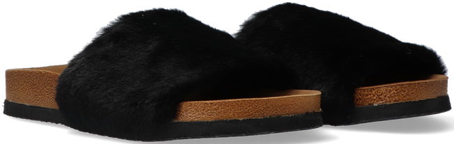 Zwarte OMODA Pantoffels LUCY  - large