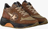 Bruine HIP Lage sneakers H1976  - medium