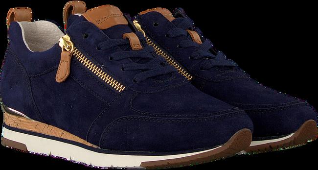 Blauwe GABOR Lage sneakers 431  - large