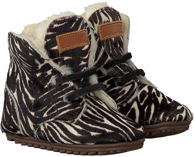 Zwarte SHOESME Babyschoenen BP9W023  - large