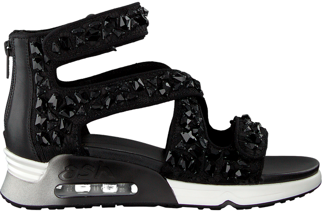 Zwarte ASH Sandalen LIPS STONES - large