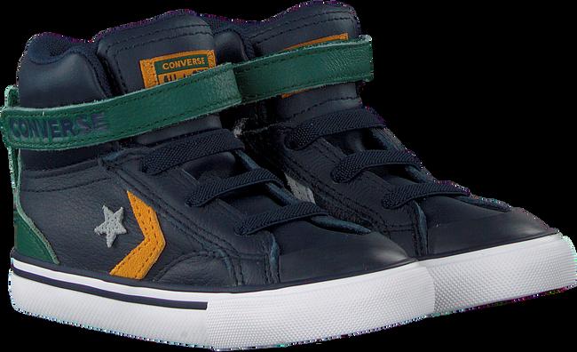 Blauwe CONVERSE Hoge sneaker PRO BLAZE STRAP-HI KIDS  - large