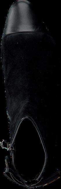 Zwarte WHAT FOR Enkellaarsjes ELO  - large
