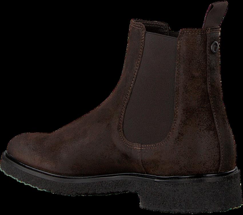 Bruine GOOSECRAFT Chelsea boots SATURNIA - larger