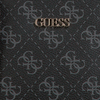 Zwarte GUESS Schoudertas ARIE DOUBLE POUCH  - small