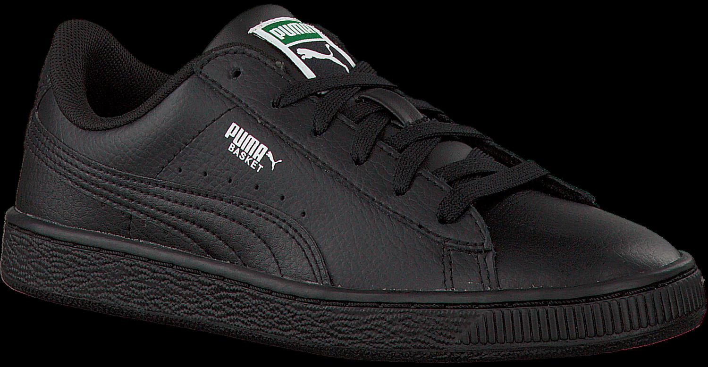 Zwarte Puma Sneakers Basket Classic Lfs