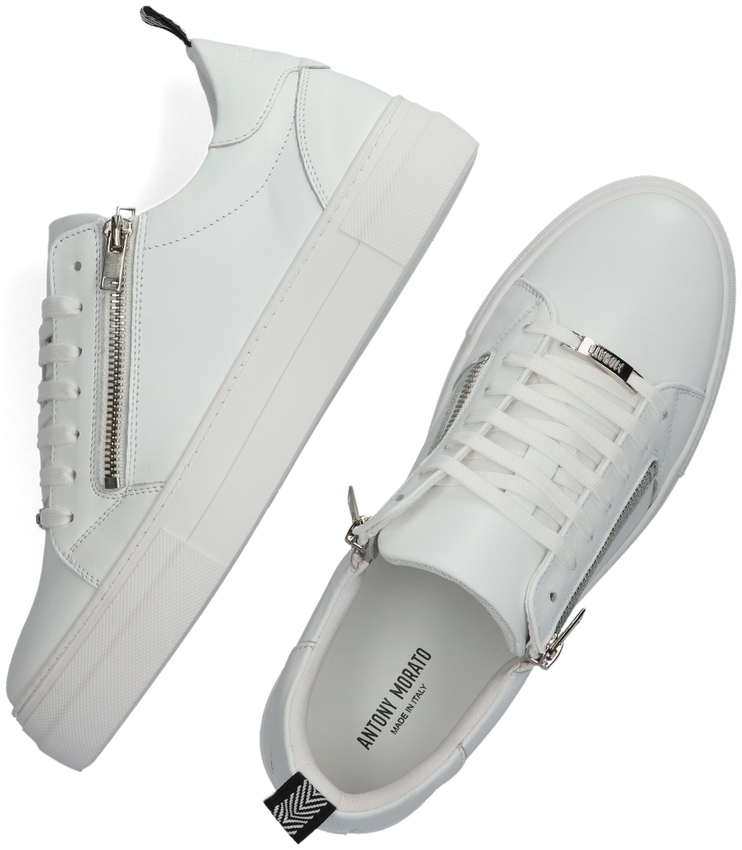 Witte ANTONY MORATO Lage sneakers MMFW01370  - larger
