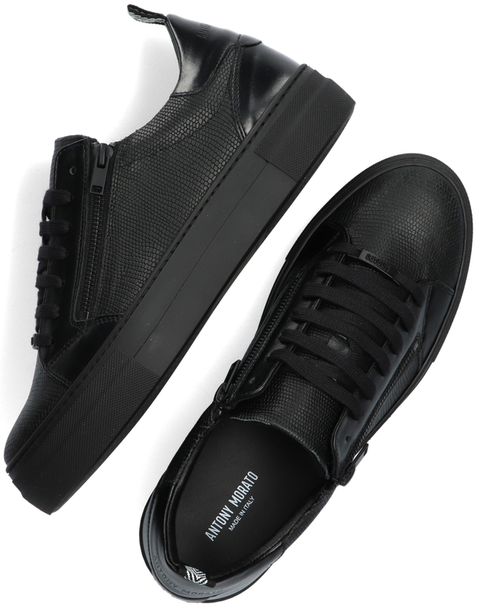 Zwarte ANTONY MORATO Lage sneakers MMFW01387  - larger