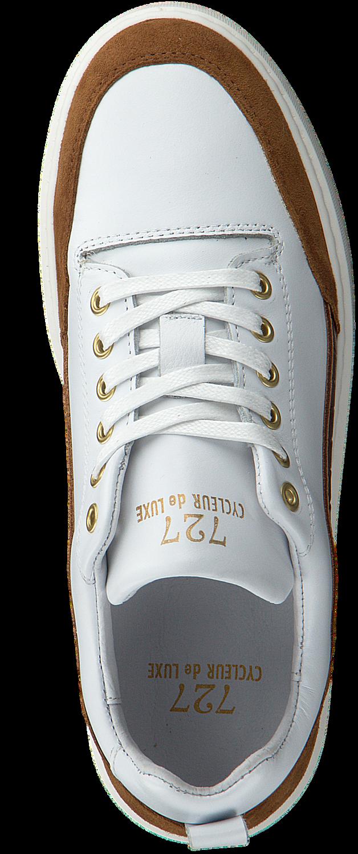 Witte CYCLEUR DE LUXE Lage sneakers MIMOSA Omoda.nl