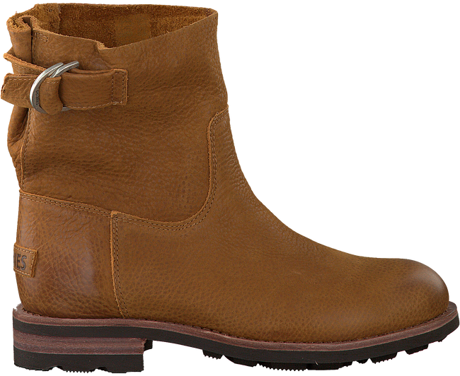 Cognac SHABBIES Enkelboots 181020071  - large