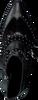 Zwarte BRONX Enkellaarsjes 33973A - small