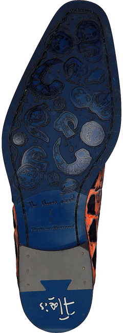 Oranje FLORIS VAN BOMMEL Nette schoenen 18204  - large
