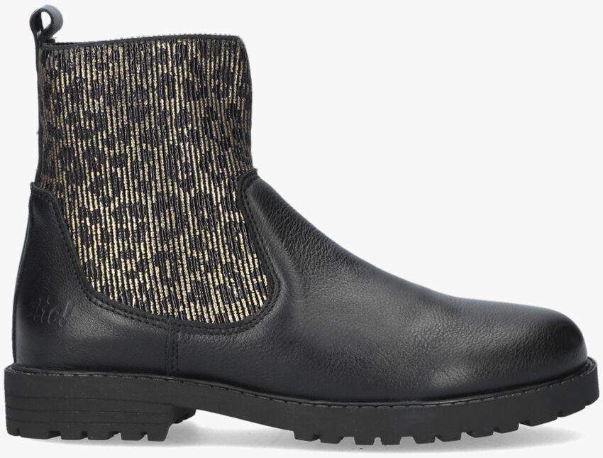 Zwarte CLIC! Chelsea boots CL-20424  - larger